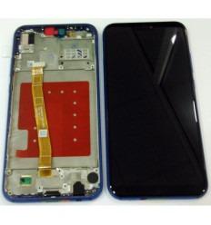 HUAWEI P20 LITE PANTALLA LCD +TACTIL NEGRO + MARCO AZUL ORIGINAL
