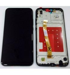 HUAWEI P20 LITE PANTALLA LCD + TACTIL NEGRO + MARCO ORIGINAL