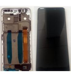 ALCATEL 3C 5026D PANTALLA LCD + TACTIL NEGRO + MARCO DORADO ORIGINAL