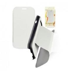 SAF007 Funda Book Samsung I9300 Galaxy S3 Blanco