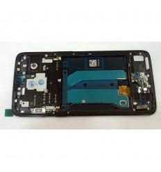 ONEPLUS 6 PANTALLA LCD + TACTIL NEGRO + MARCO ORIGINAL