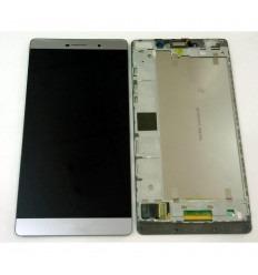 HUAWEI ASCEND P8 MAX PANTALLA LCD + TACTIL GRIS + MARCO ORIGINAL