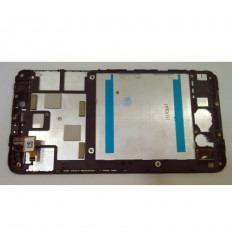 ALCATEL ONE TOUCH PIXI 4 (6) 8050D PANTALLA LCD + TACTIL NEGRO + MARCO ORIGINAL