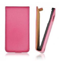 IPF002 Funda Slim iPhone 5 vertical rosa