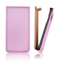 IPF005 Funda Slim iPhone 5 vertical violeta