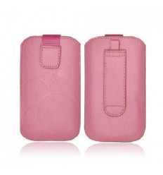 IPF017 slim case Forcell Deko iPhone 5 pink