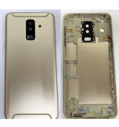 Samsung Galaxy A6 Plus A605f Gold Back Case