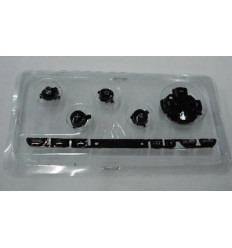 Repuesto botones negros PSP Fat