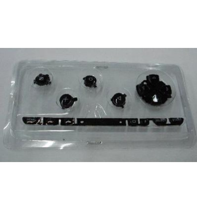 Spare black buttons PSP Fat