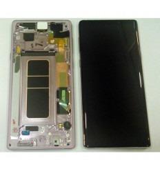 SAMSUNG GH97-22269E N960 GALAXY NOTE 9 PANTALLA LCD + TÁCTIL NEGRO + MARCO LILA ORIGINAL