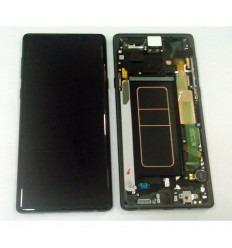 SAMSUNG GH97-22269A N960 GALAXY NOTE 9 PANTALLA LCD + TÁCTIL NEGRO + MARCO NEGRO ORIGINAL