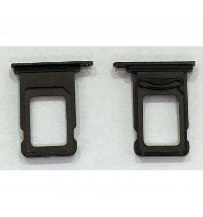 IPhone XS Max original black dual sim tray