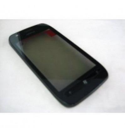 Nokia Lumia 710 pantalla tactil original + marco negro