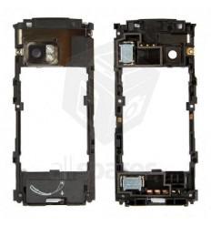 Nokia X6 Carcasa central Negra + Buzzer+ antena original