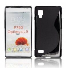 LGF006 Back Case S-Line - LG L9 Negro