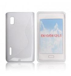 LGF008 Back case S-LINE LG L5 Blanco