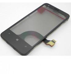 Nokia Lumia 620 Táctil negro original con marco