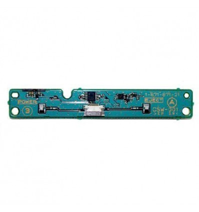 Replacement power and reset board Ps3