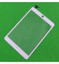 iPad mini pantalla táctil blanca