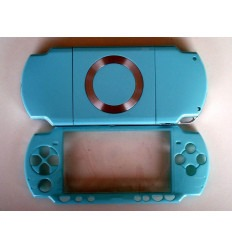 Carcasa completa PSP 2000 azul celeste