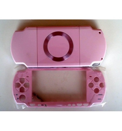 Carcasa completa PSP 2000 rosa