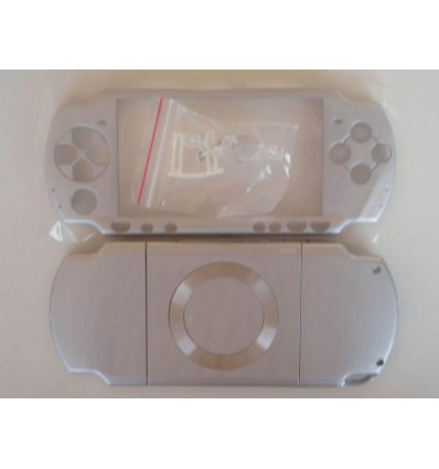 Carcasa completa PSP 2000 plata