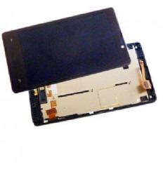 Nokia Lumia 820 Pantalla LCD + Táctil negro + marco original