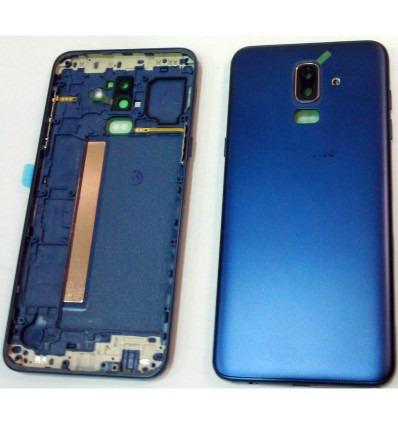 online retailer a3c12 c7113 Samsung Galaxy J8 2018 J810F dark blue back cover or battery cover j810ds  sm-j810f sm-j810ds