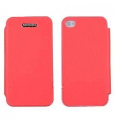 iPhone 4 4S Techno flip cover Original pink designed by Merc
