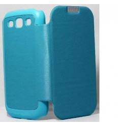 Samsung Galaxy s3 i9300 Original light blueTechno flip cover