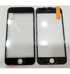 198d5ace8fb Iphone 6 A1549 A1586 A1589 cristal negro + marco negro +.