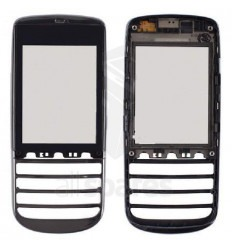 Nokia Asha 300 Pantalla táctil original mas frontal graphite