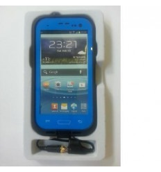 Samsung S3 I9300 Lifeproof Let s go blue protector