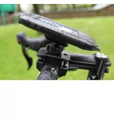 iPhone 4 4S Support and protector tight to bike