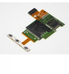 Sony Xperia J ST26I original sim card reader and volume flex