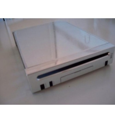 Silver full case for Wii