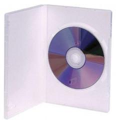 Estuche CD DVD Plastico Rigido Transparente