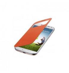 Funda inteligente S-VIEW COVER naranja Samsung I9500 I9505,