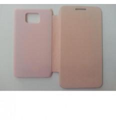 Samsung Galaxy S II I9100 salmon flip cover.