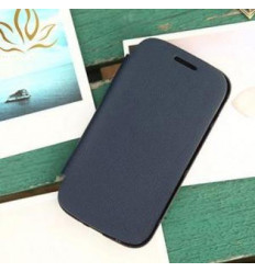 Samsung Galaxy Ace S5830 dark blue Flip cover