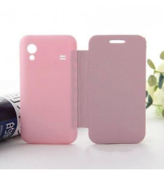 Samsung Galaxy Ace S5830 pink Flip cover