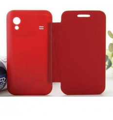 Samsung Galaxy Ace S5830 red Flip cover