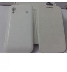 Samsung Galaxy Ace S5830 white Flip cover