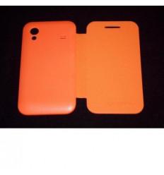 Samsung Galaxy Ace S5830 orange Flip cover