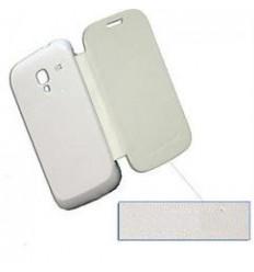 Samsung Galaxy ACE 2 I8160 Flip Cover blanca
