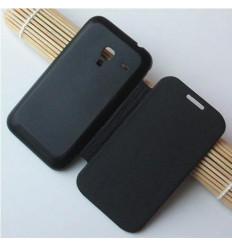 Samsung Galaxy ACE Plus S7500 Flip Cover Negra