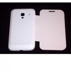 Samsung Galaxy ACE Plus S7500 Flip Cover blanca