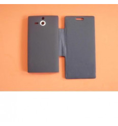 Sony Ericsson Xperia U ST25I Flip Cover Azul marino