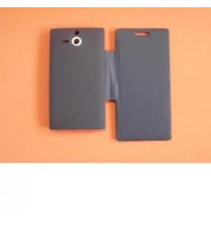 Sony Xperia S LT26I Flip Cover azul marino