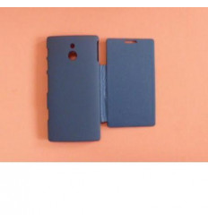 Sony Xperia P LT22I dark blue Flip Cover